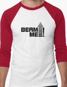 Beam me up V.1 (black) Men's Baseball ¾ T-Shirt