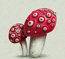 Amanita by limeart