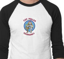 Breaking Bad Los Pollos Hermanos Ryansmarketplace Men's Baseball ¾ T-Shirt