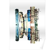 Cityscape Reflection Poster