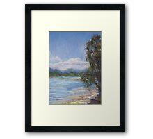 Low tide, Camden Haven River Framed Print