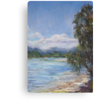 Low tide, Camden Haven River Canvas Print