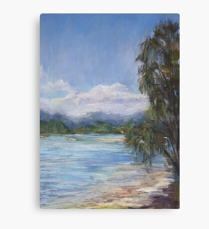 Low tide, Camden Haven River Canvas Print