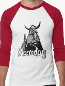Moondog linocut Men's Baseball ¾ T-Shirt