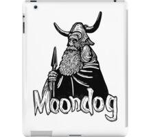 Moondog linocut iPad Case/Skin