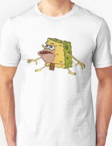 sponge bob caveman meme Unisex T-Shirt