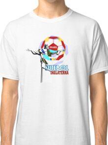 Brasil Futebol 14 Inglaterra shirt Classic T-Shirt