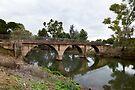 Footbridge across the Burra Creek by Linda Lees