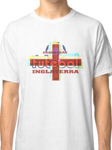 Esquadrão Futebol Inglaterra football shirt Classic T-Shirt