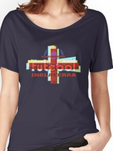 Esquadrão Futebol Inglaterra football shirt Women's Relaxed Fit T-Shirt