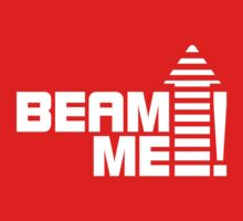Beam me up V.1 (white) Baby Tee