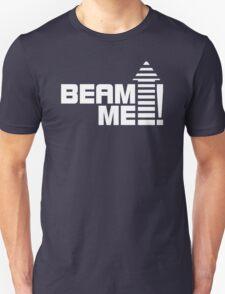 Beam me up V.1 (white) Unisex T-Shirt