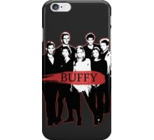 BTVS CAST (S3): The Scoobies! iPhone Case/Skin
