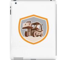 Forklift Truck Materials Handling Logistics Shield iPad Case/Skin