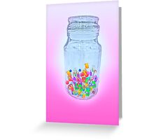Jar of Sweets Greeting Card