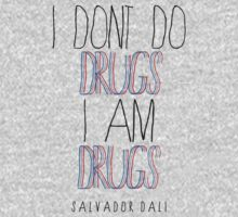 Type Quote #2 - I dont do drugs i am drugs - Salvador Dali Baby Tee
