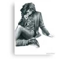Penciled Harry  Canvas Print