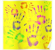Hands hands hands Poster