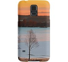 Amazing winter wonderland sundown | landscape photography Samsung Galaxy Case/Skin