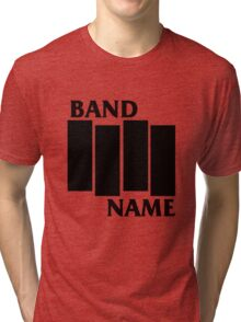 Band Name - Black Flag Parody Tri-blend T-Shirt