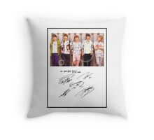 Our boys - SHINee!! Throw Pillow