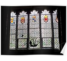 Medieval Window, Ightham Mote Poster