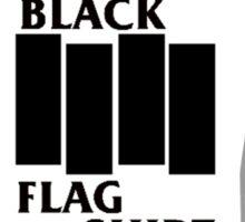 Black Flag Shirt Shirt Sticker