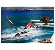 Mayday! Mayday! - Milos island Poster