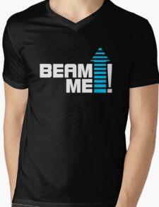 Beam me up V.1 (2c) Mens V-Neck T-Shirt