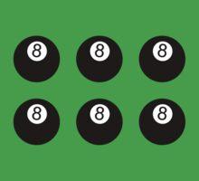 8 Balls One Piece - Short Sleeve