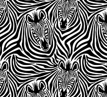 Zebra Couple by Lisann