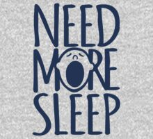 Need more sleep yawn by Sarah Trett