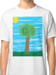 The lonely tree Classic T-Shirt