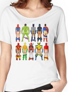 Superhero Butts Women's Relaxed Fit T-Shirt