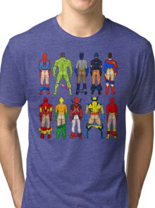 Superhero Butts Tri-blend T-Shirt