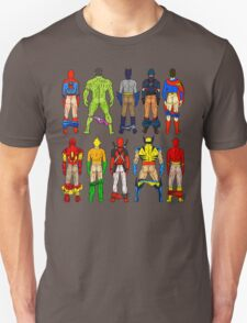 Superhero Butts Unisex T-Shirt