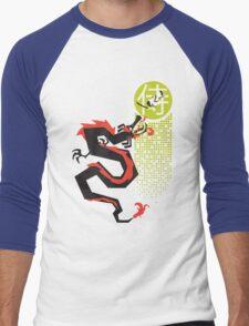Mortal Enemies Men's Baseball ¾ T-Shirt