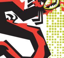 Mortal Enemies Sticker