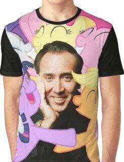 Nic and His Girls Graphic T-Shirt