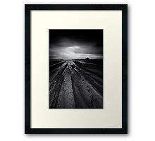 Hopeful Darkness Framed Print