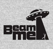Beam me up V.2.1 (black) One Piece - Short Sleeve