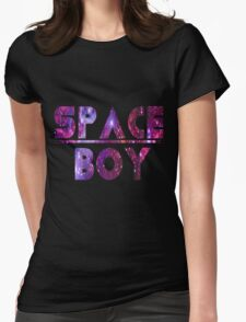Space Boy Womens Fitted T-Shirt