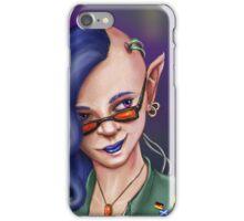 Cyberpunk Elf iPhone Case/Skin