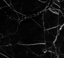 black marble Sticker