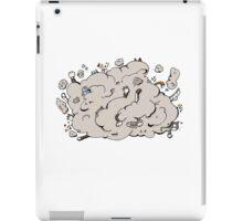 Cat fight iPad Case/Skin