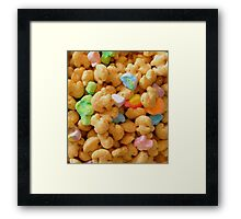 Marshmallow Cereal Framed Print