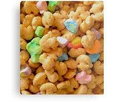 Marshmallow Cereal Metal Print