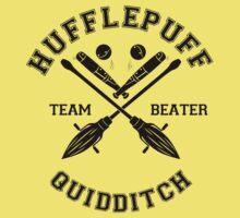 Quidditch - Hufflepuff - Team Beater by Divum