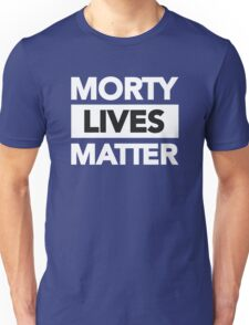 Morty Lives Matter Rick and Morty Unisex T-Shirt