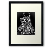 MEGA BEAST Framed Print